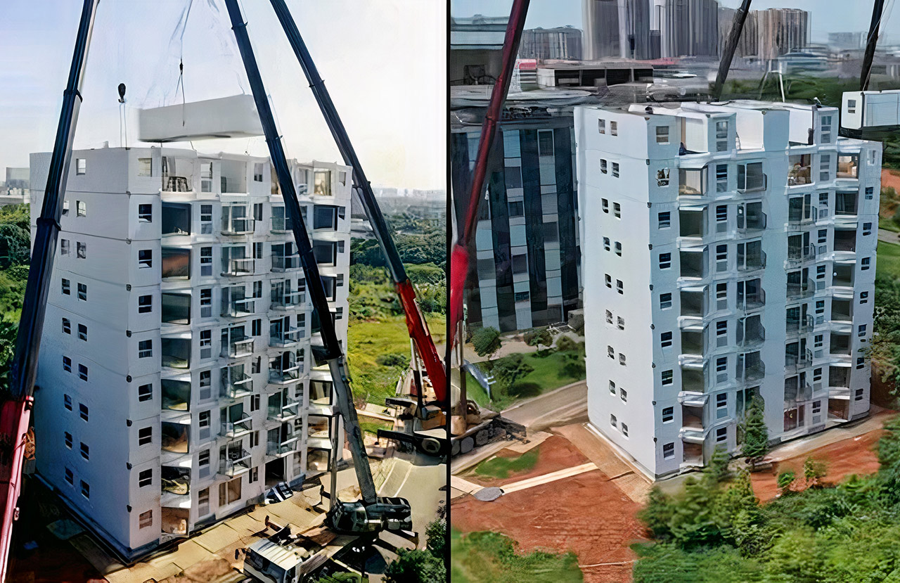 10-Story Building China Construction