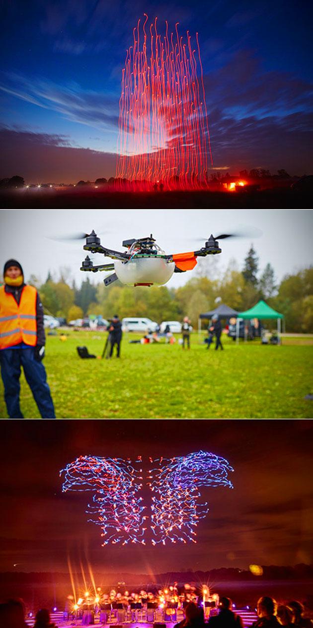 100 Drones