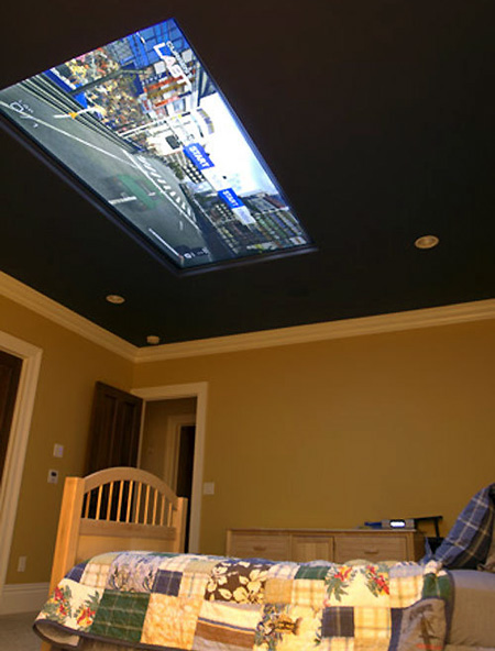 Mom Hires Company To Flush Mount 98 Inch Display In Ceiling For Kid TechEBlog