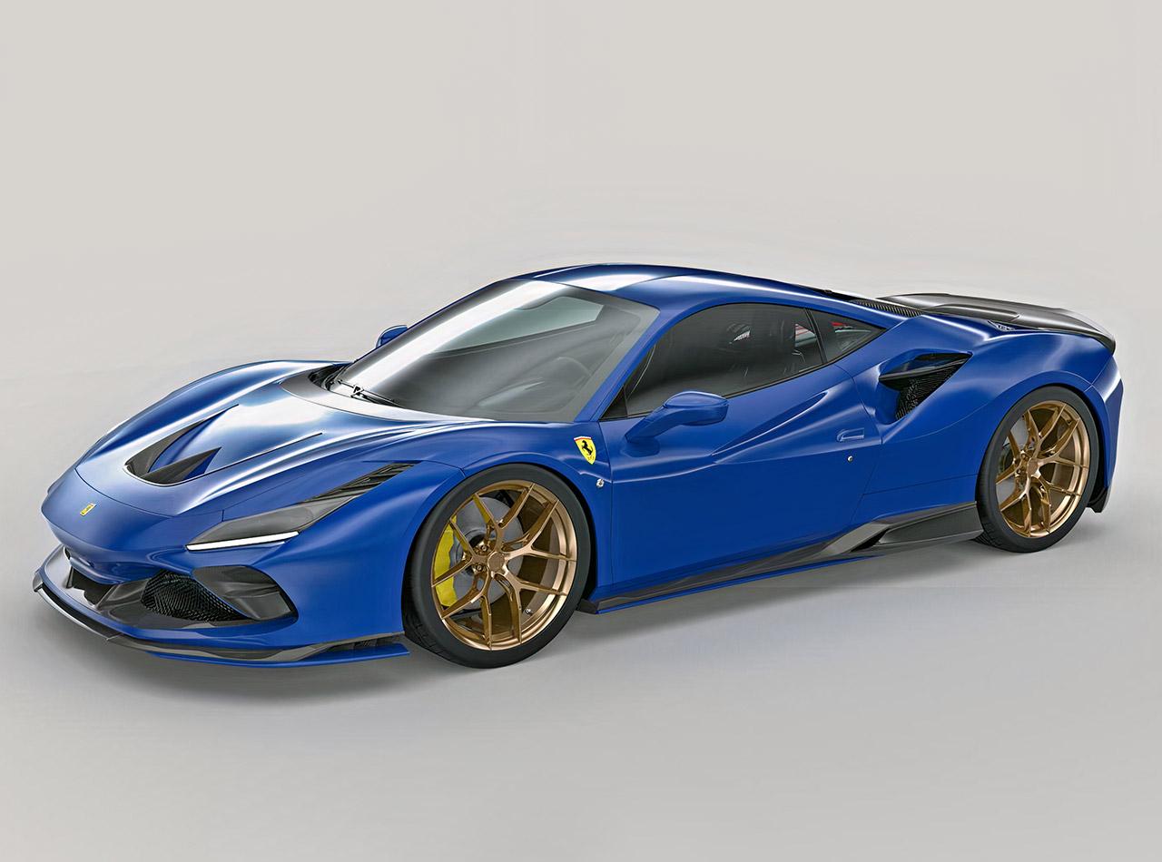 1016 Industries 3D-Printed Body Kit Ferrari F8 Tributo