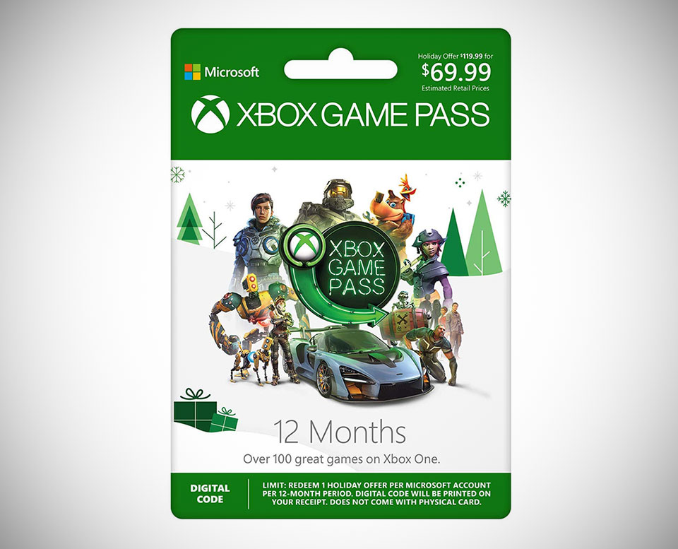 12-Month Xbox Game Pass