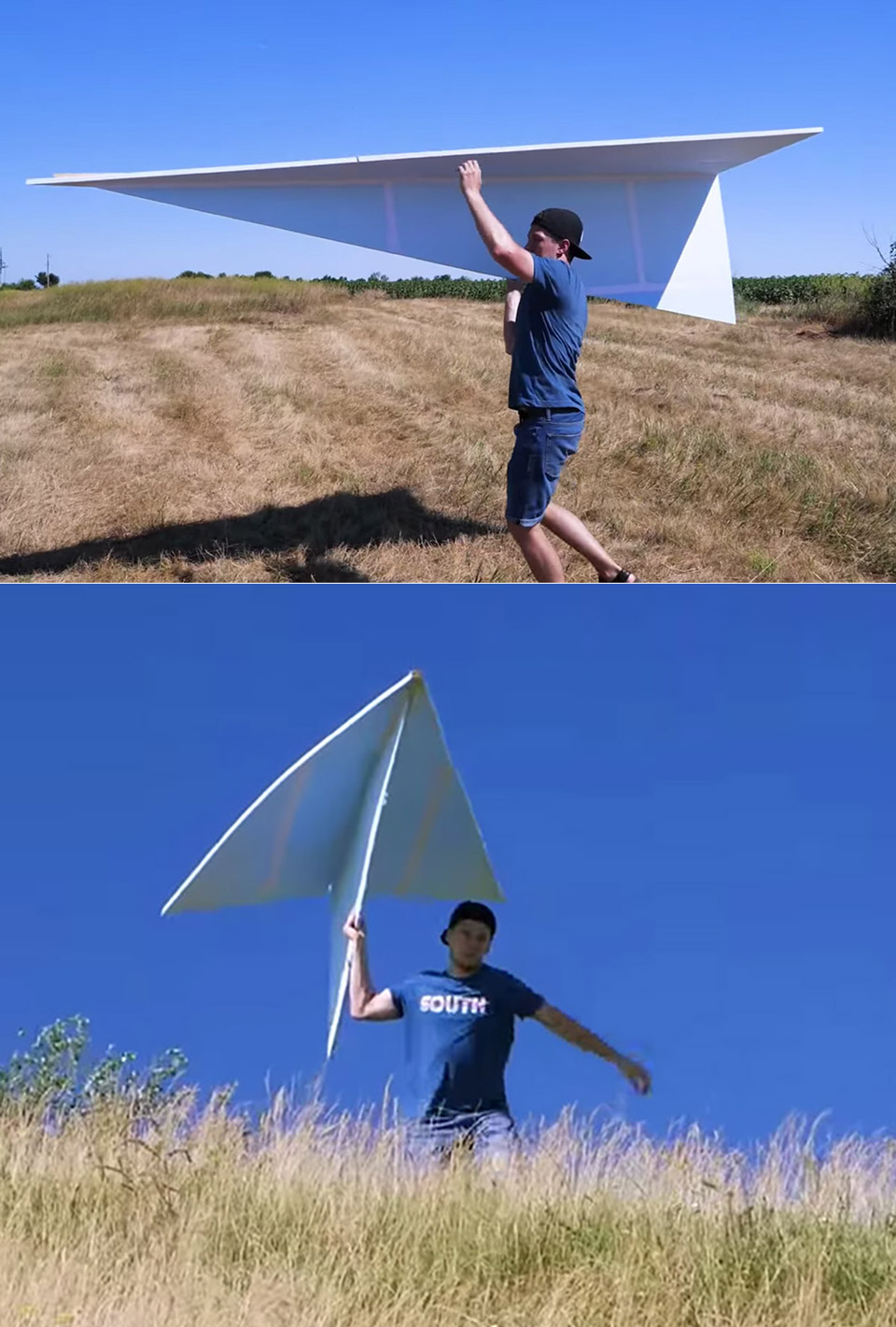 122-inch Paper Airplane