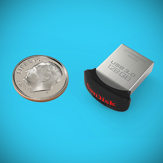 128GB SanDisk Ultra Fit