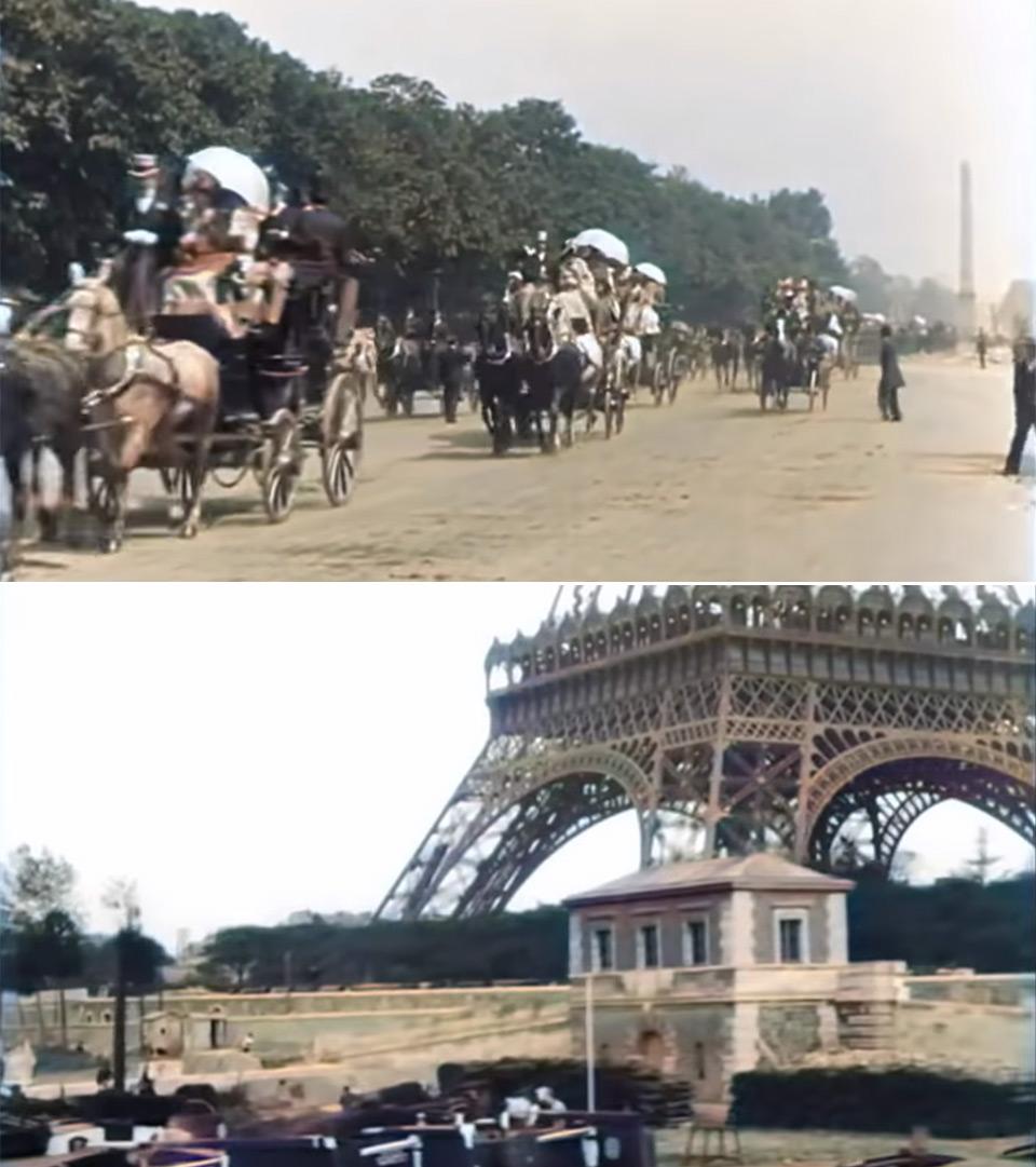 1896-1900 Paris Color Sound
