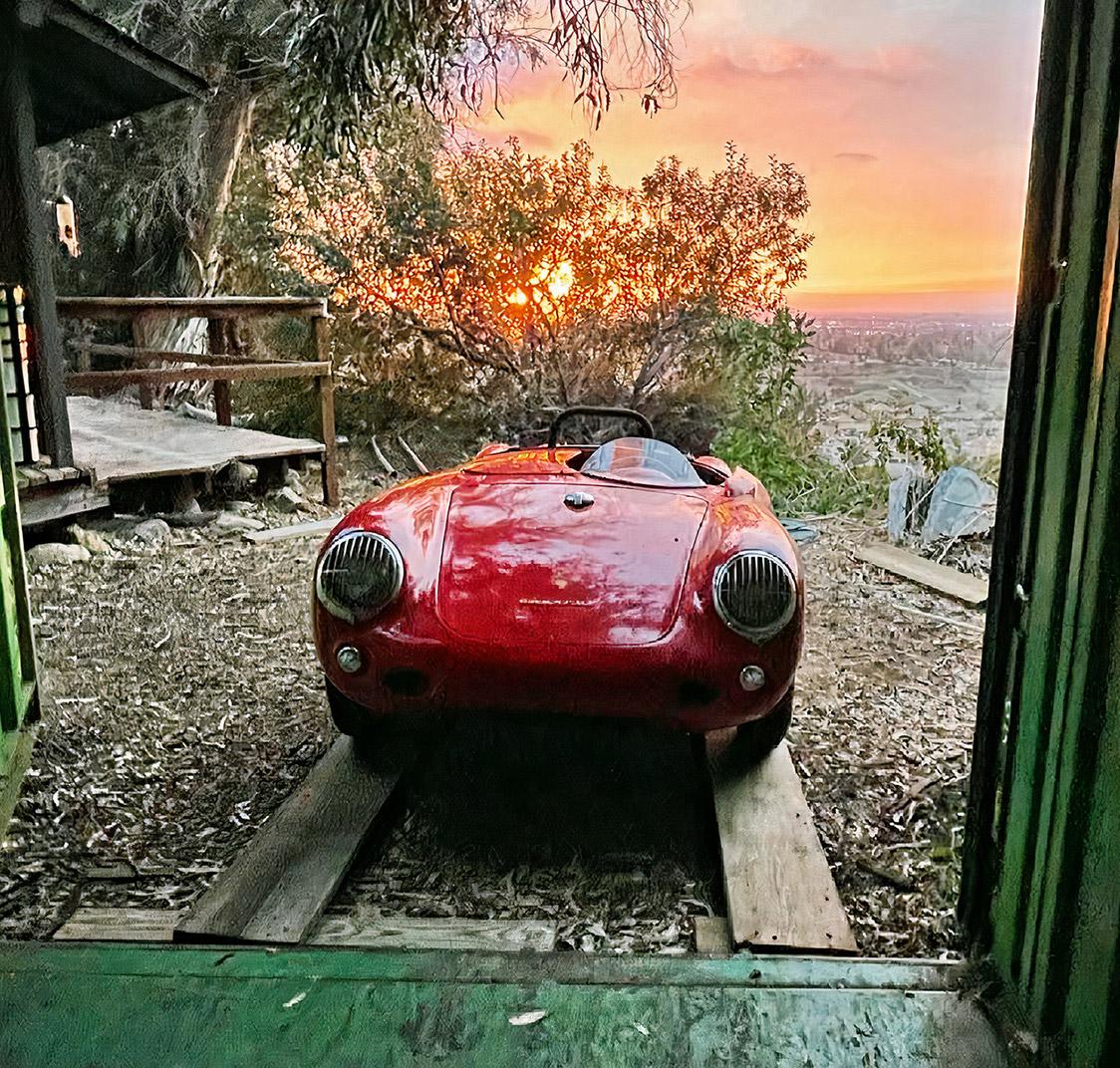 1955 Porsche 550 Spyder Shipping Container
