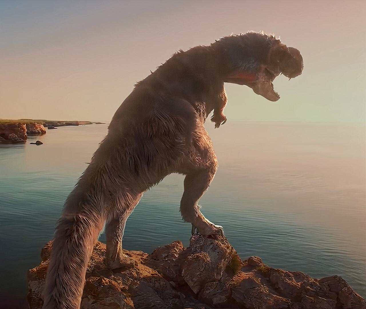 2.5-Billion T-Rex Earth