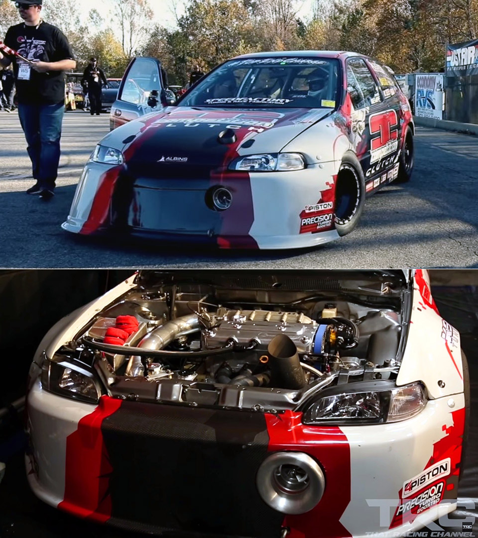 2,000HP Honda Civic
