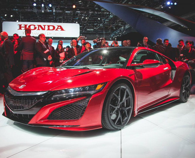 2016 Acura NSX Official Detroit