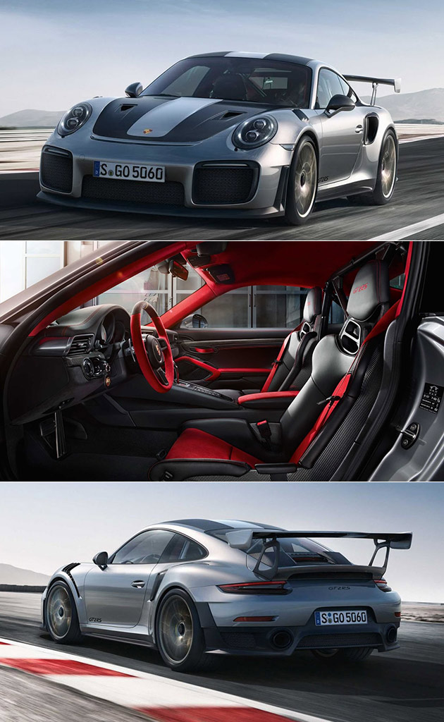 2018 porsche 911 gt2 rs makes appearance at goodwood donuts ensue techeblog. Black Bedroom Furniture Sets. Home Design Ideas