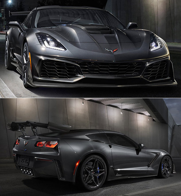 2019 Corvette ZR1 Officially Unveiled, Boasts 755HP