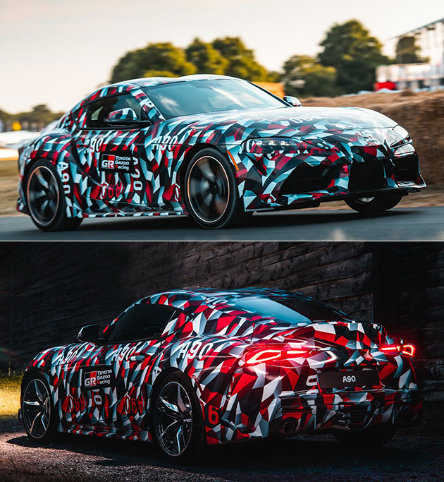 2019 Toyota Supra Goodwood