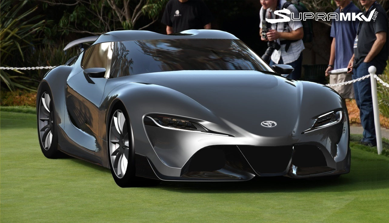 This Is What The 2019 Toyota Supra Might Look Like Without Camouflage Techeblog