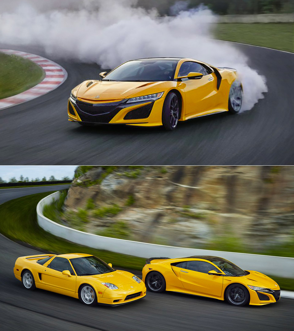2020 Acura NSX Debuts New Heritage Color At Monterey Car