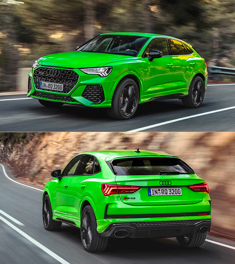 2020 Audi Rs Q3 Sportback Unveiled Offers Coupe Like Performance In An Suv Techeblog