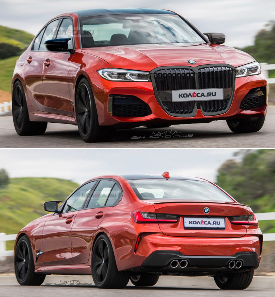 2020 BMW M3 Gets Rendered Based On Leaks, Might Have Twin