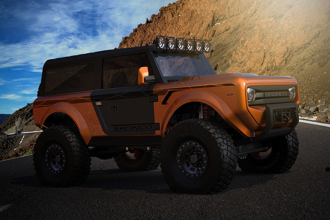 2020 Ford Bronco Revealed Ahead of Official Announcedment ...