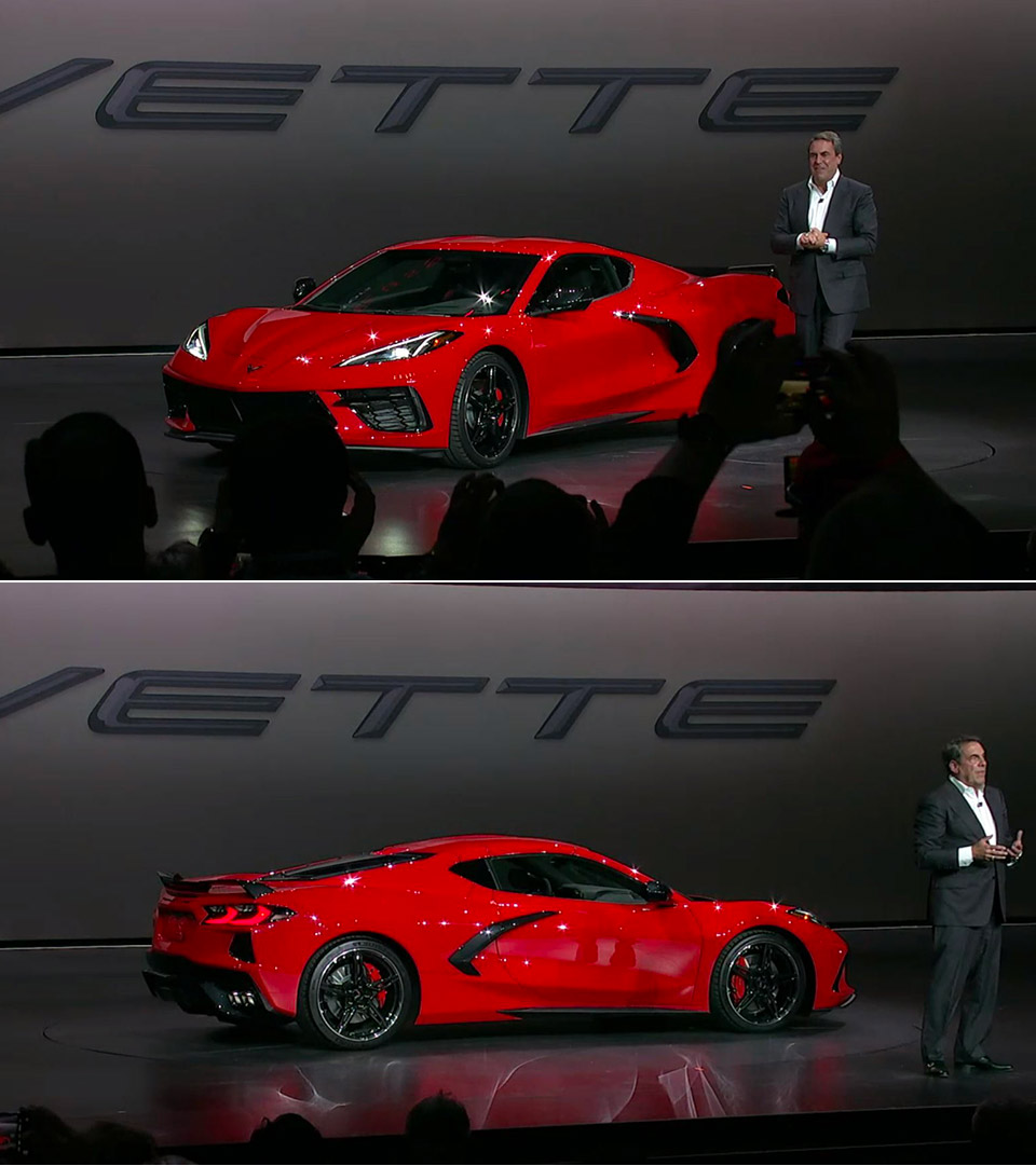 2020 Chevrolet Corvette Stingray C8 Officially Unveiled Is First