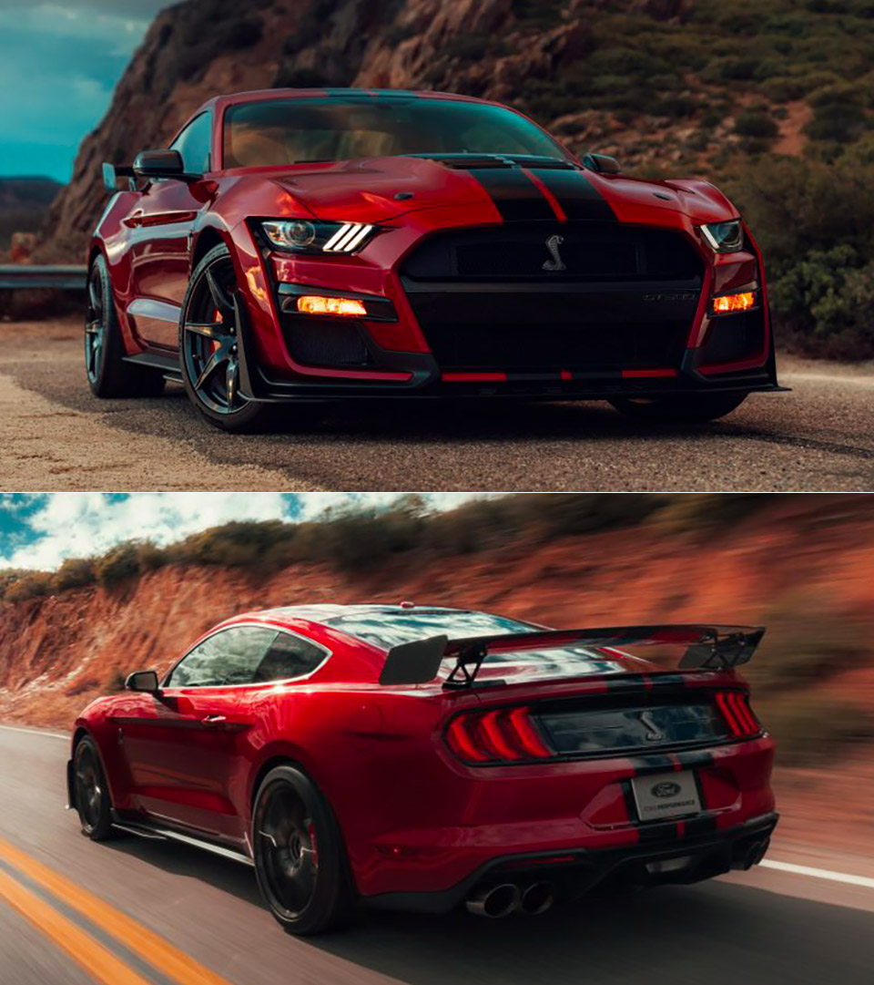 ford mustang shelby gt   powerful   supercharged  producing  hp