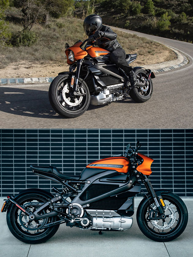 2020 Harley-Davidson LiveWire Electric Motorcycle Production Model Revealed