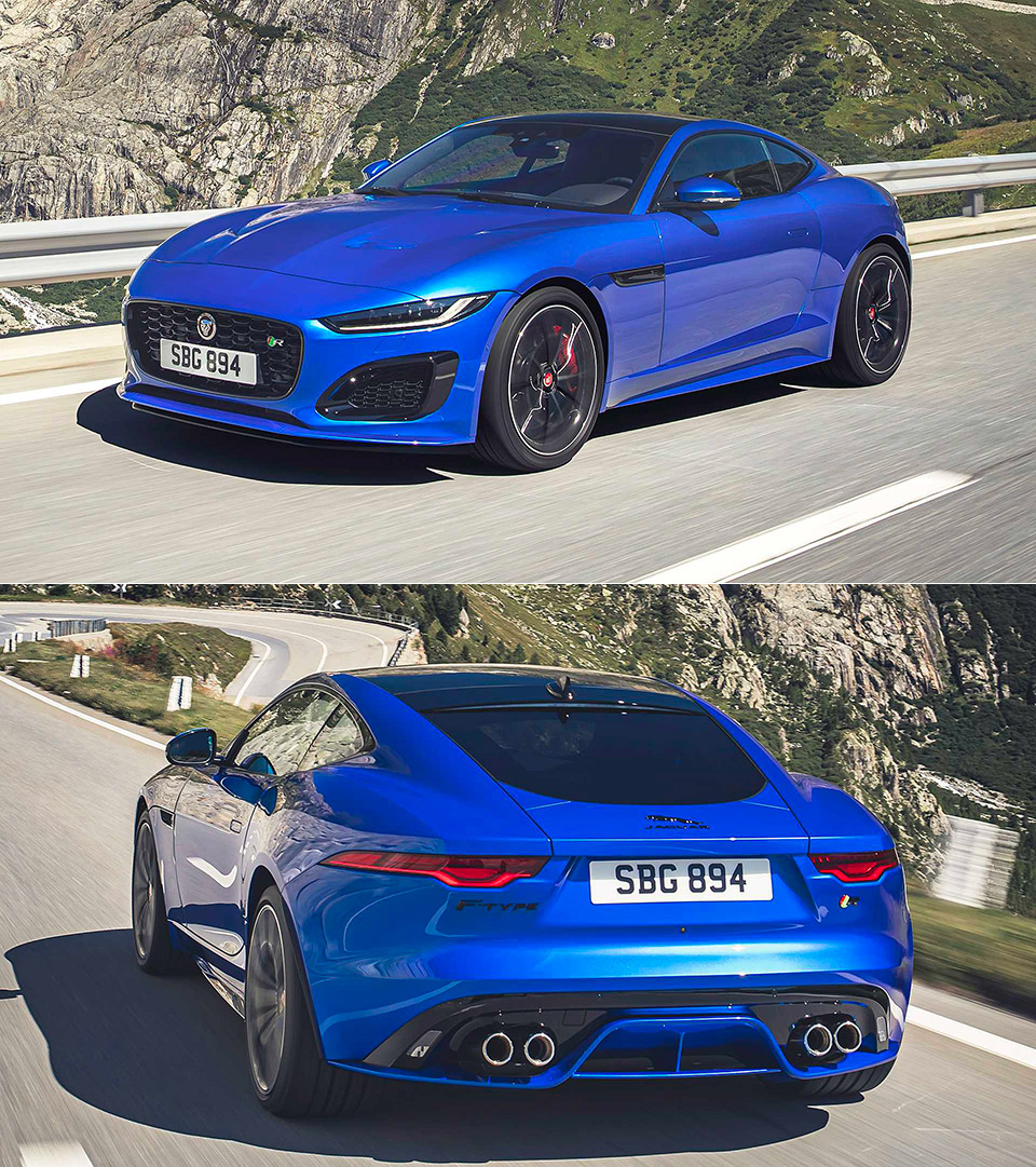 2021 Jaguar F-Type Officially Revealed, Here's a First ...