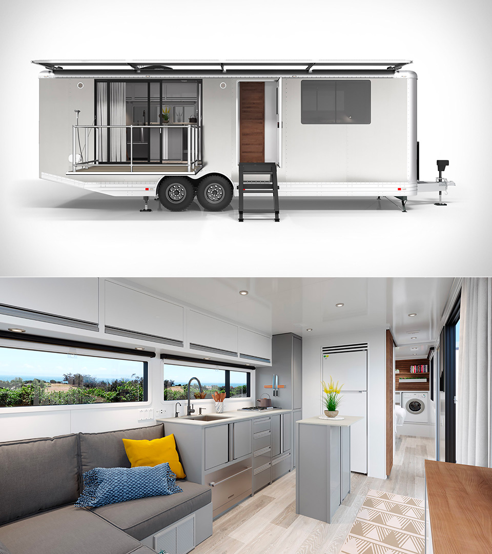 2020 Living Vehicle Trailer Home