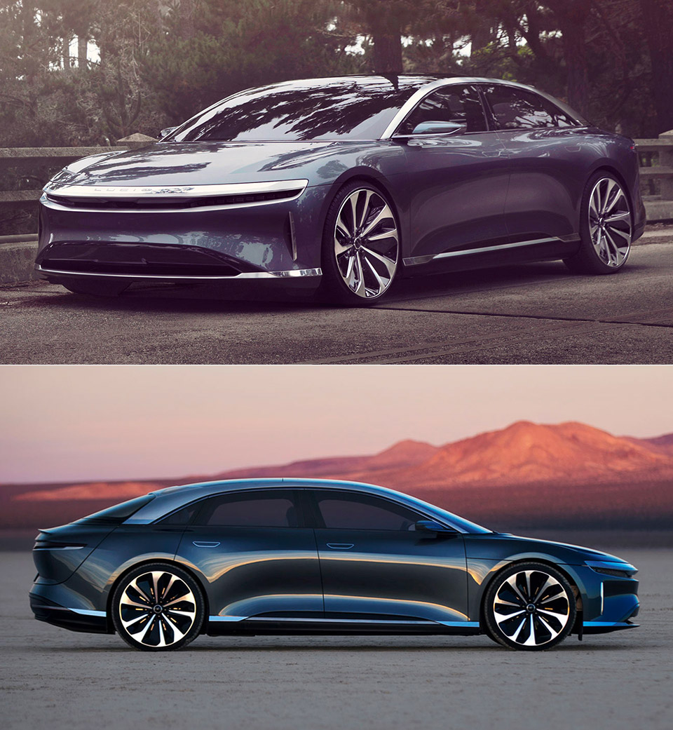 2020 Lucid Air Production