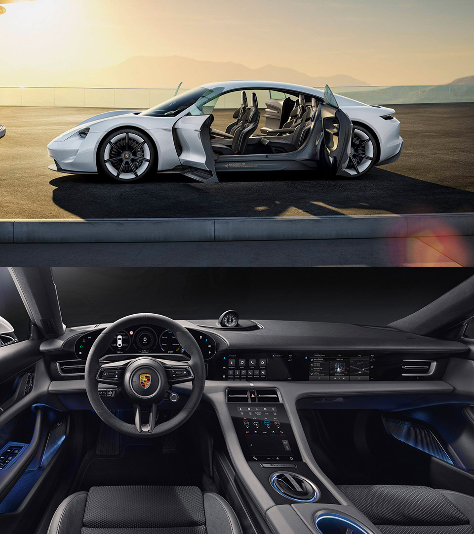 Porsche Taycan Interior