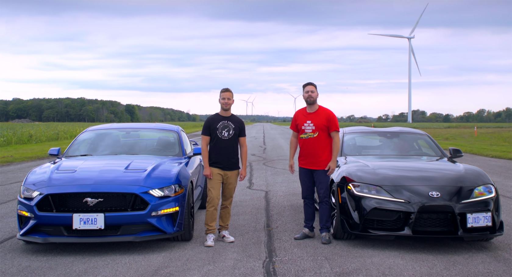 2020 Supra vs Mustang