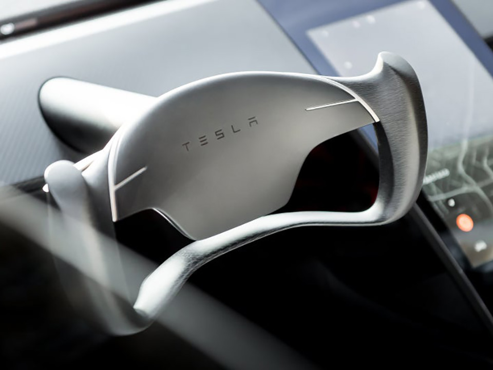 2020 Tesla Roadster Butterfly Steering Wheel
