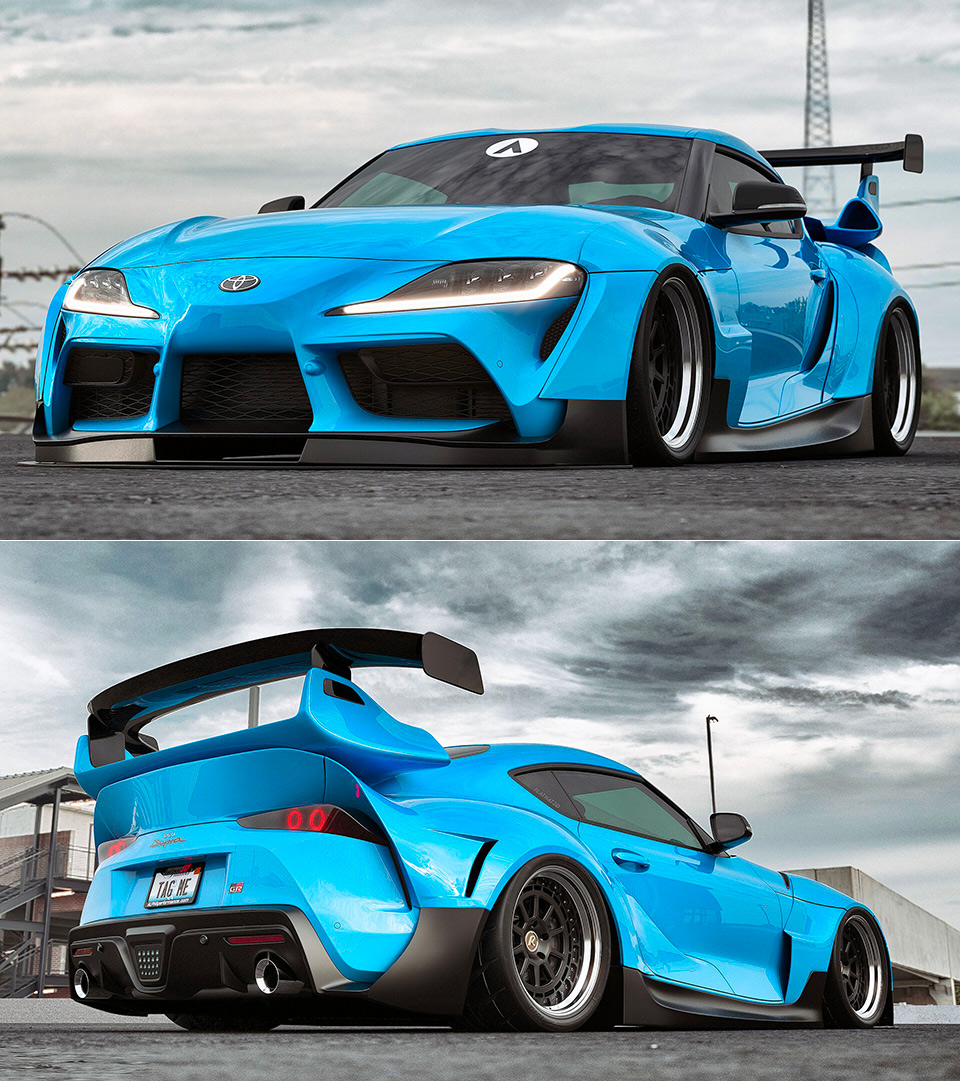 2020 Toyota Supra Fast and the Furious Body Kit