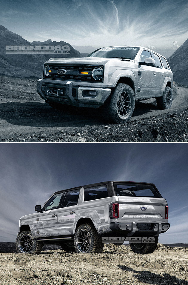2020 Ford Bronco Concept Puts Modern Twist on Classic ...