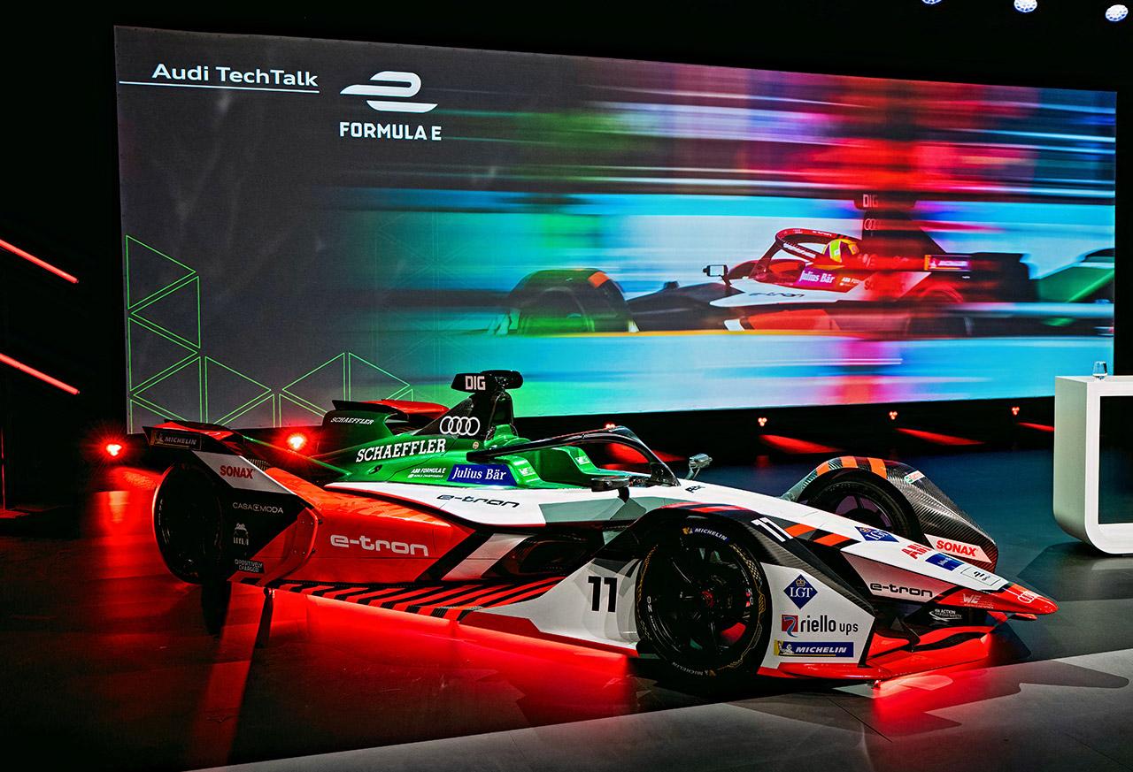 Audi E-Tron FE07 Formula E Race Car