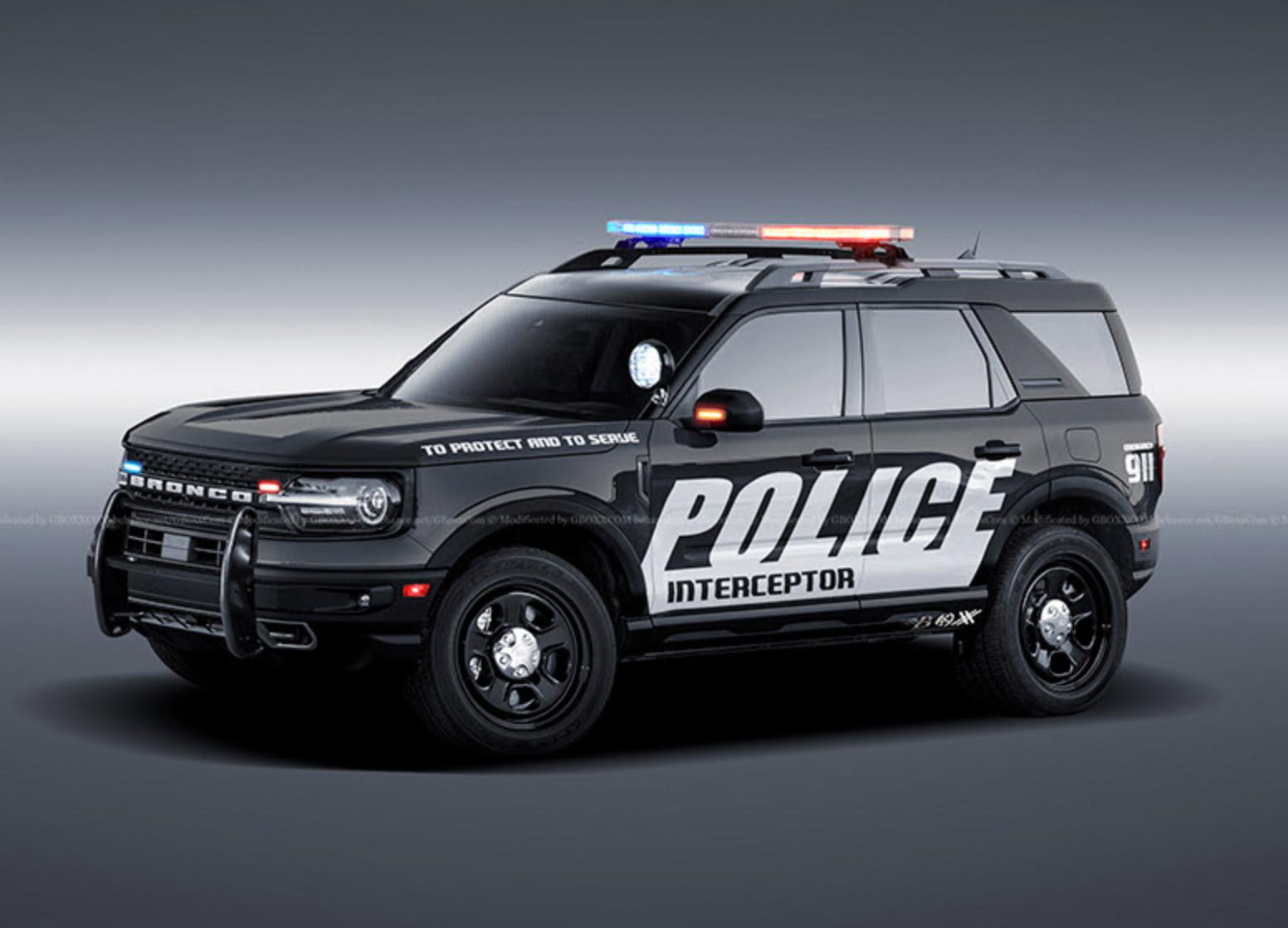 2021 Ford Bronco Sport Police Interceptor