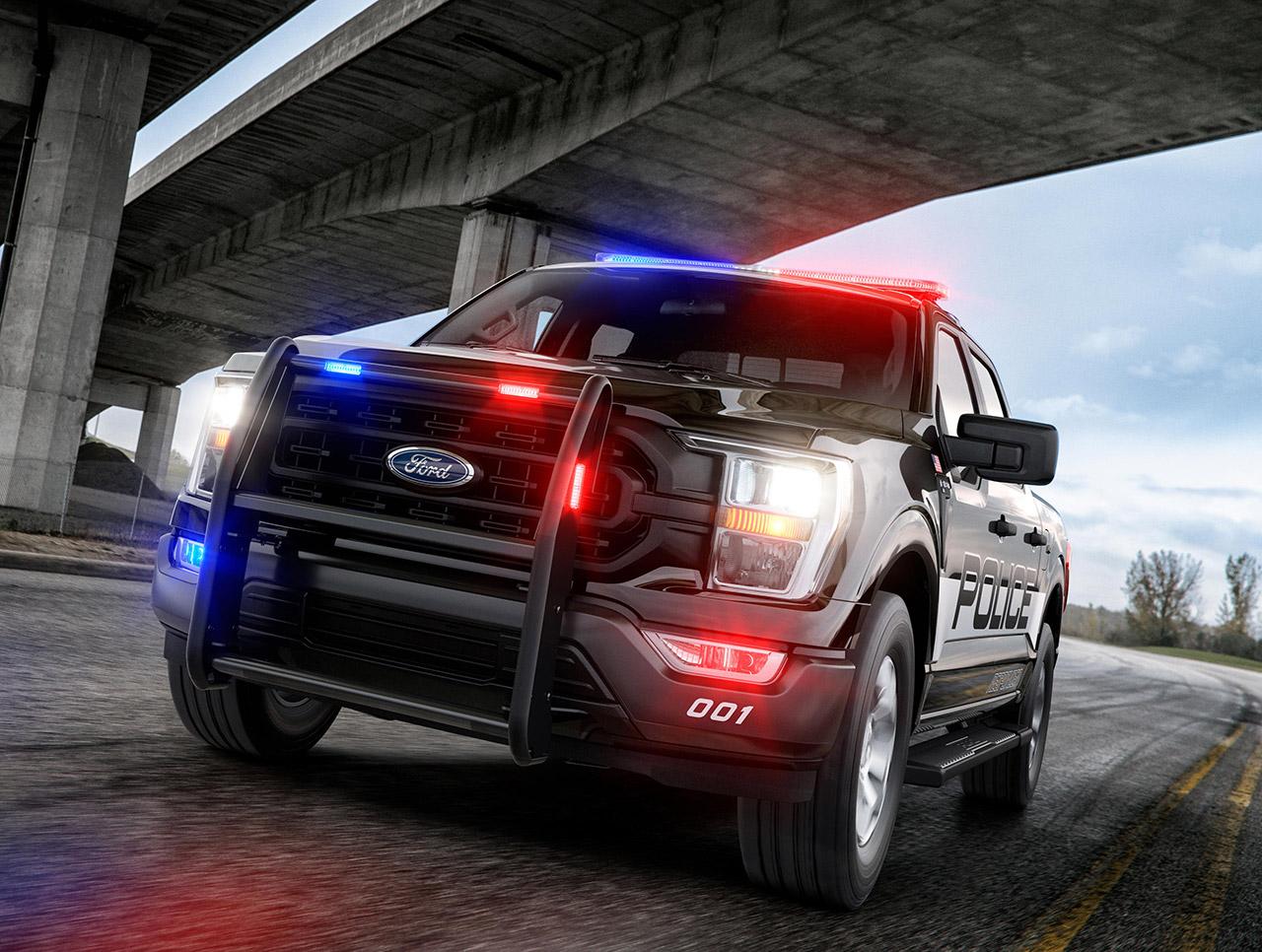 2021 Ford F-150 Police Responder Pickup Truck