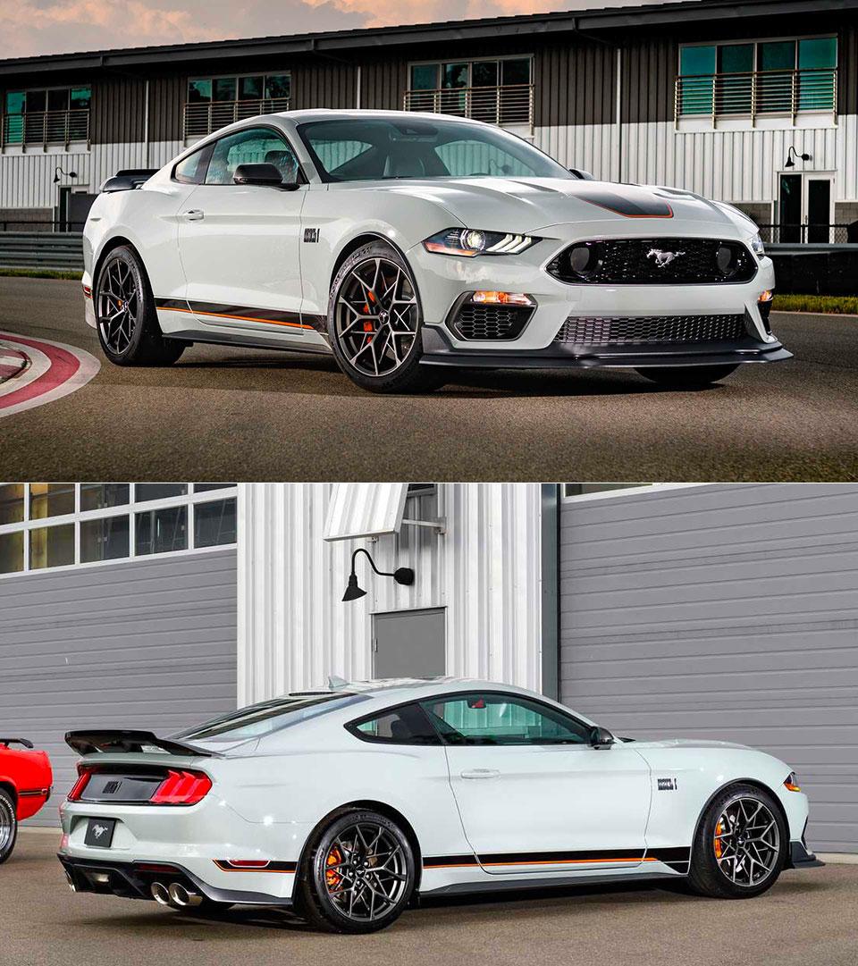 2021 Ford Mustang Mach 1 Official