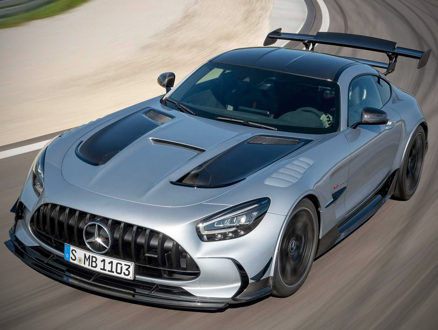 2021 Mercedes-AMG GT Black Series Official