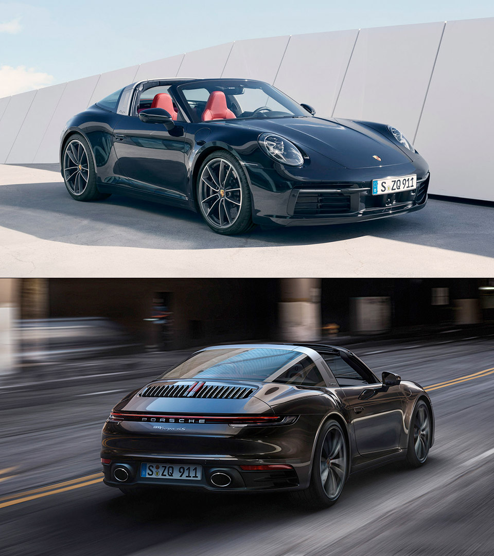 2021 Porsche 911 Targa 4 4s Unveiled Has Roof That Can Be Opened Or Closed In 19 Seconds Techeblog