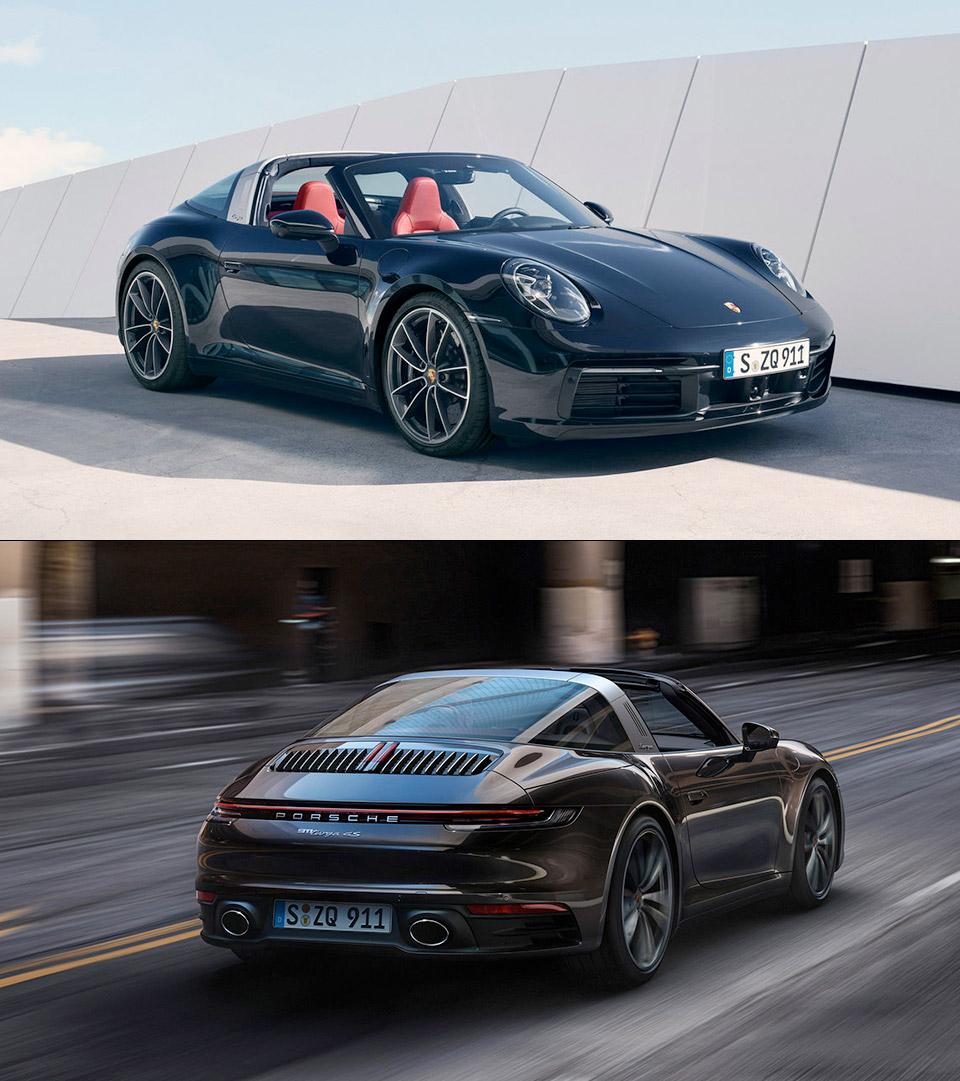 2021 Porsche 911 Targa 4 4S