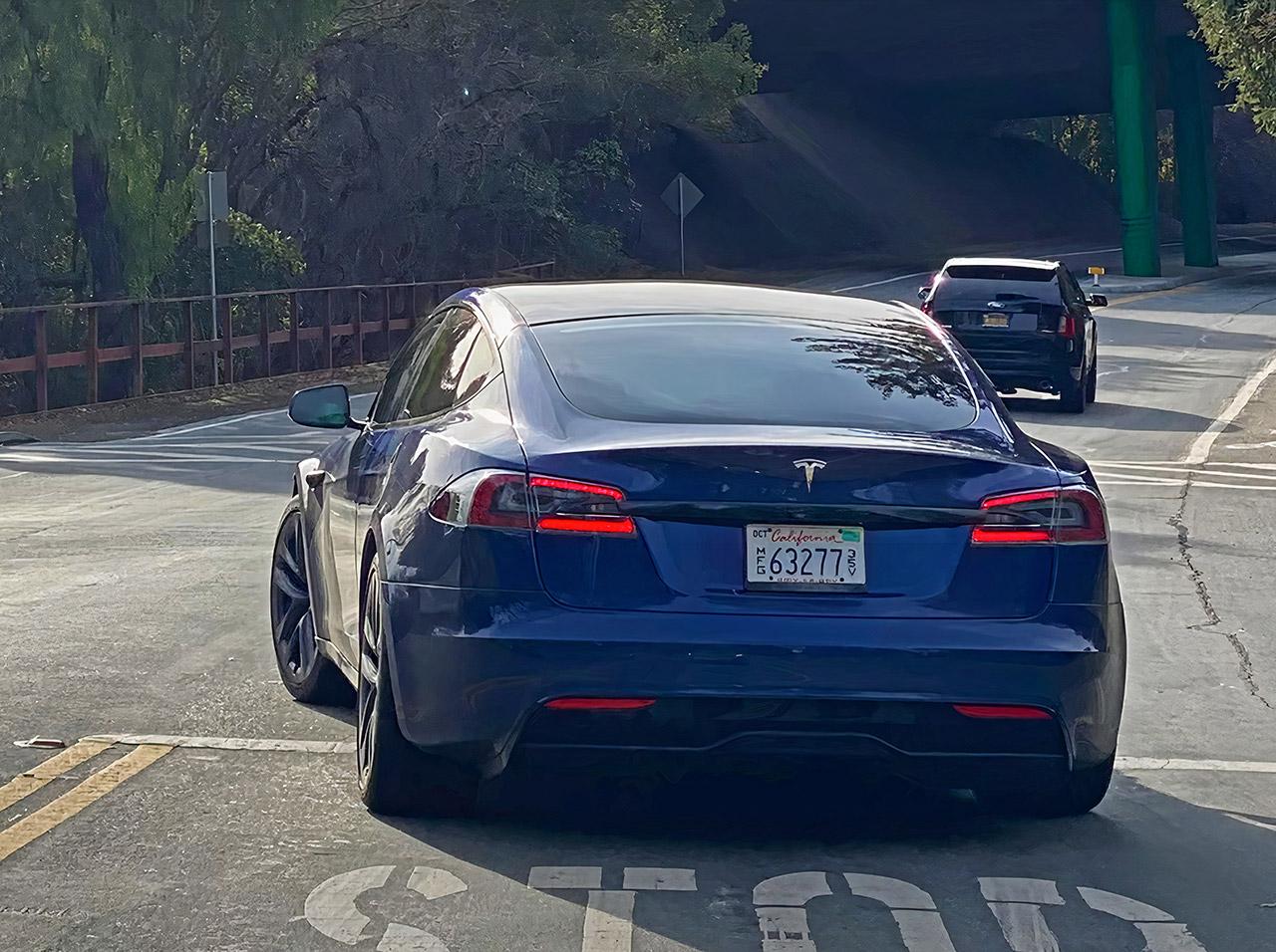 2021 Tesla Model S Refresh Plaid