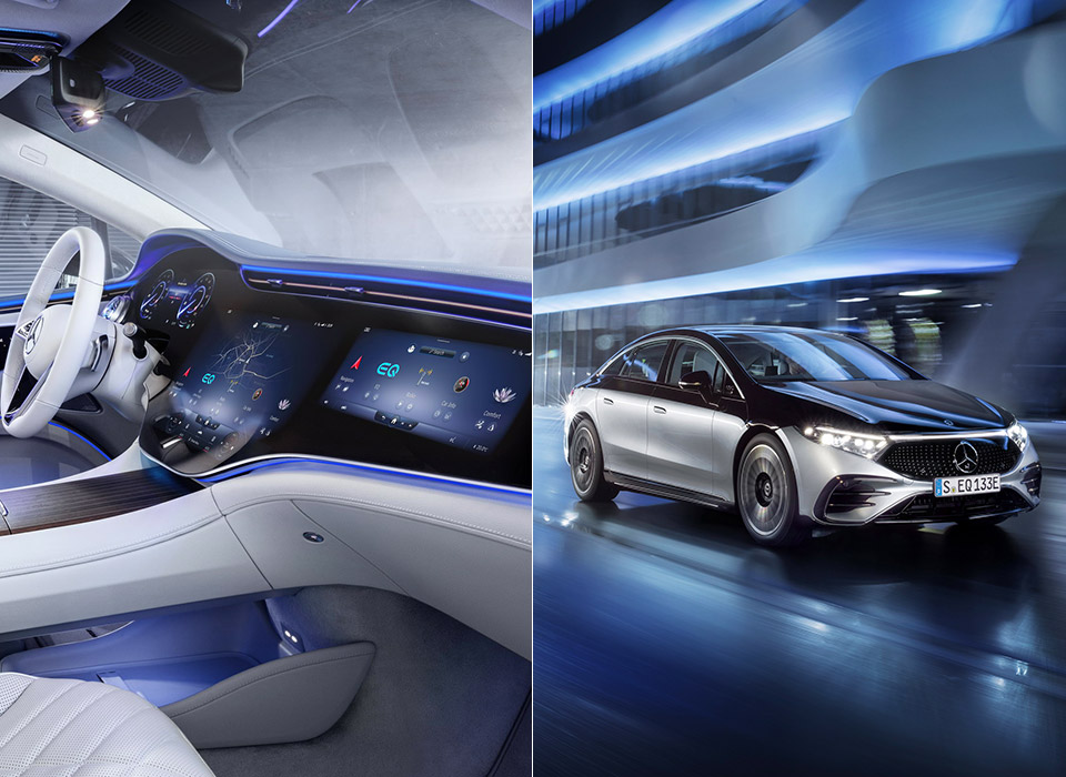 2022 Mercedes-Benz EQS Electric Luxury Sedan