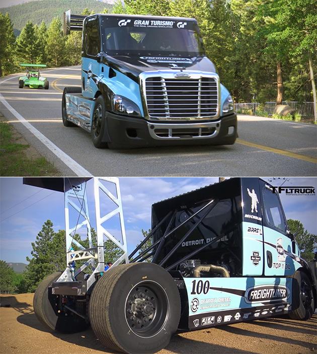 2,400 HP Truck