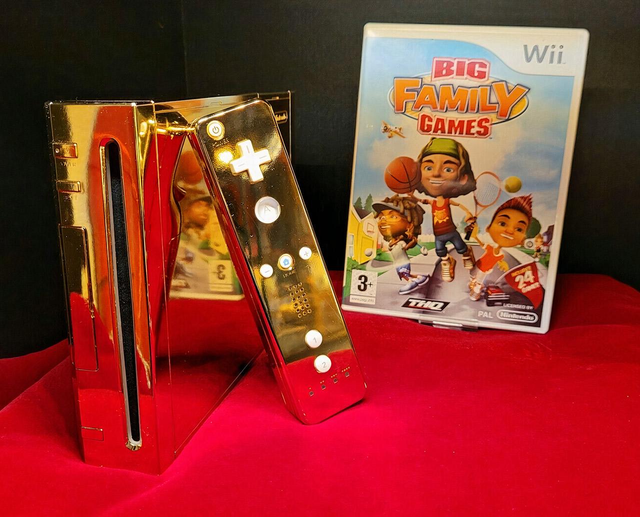 24K Gold Nintendo Wii Queen Elizabeth