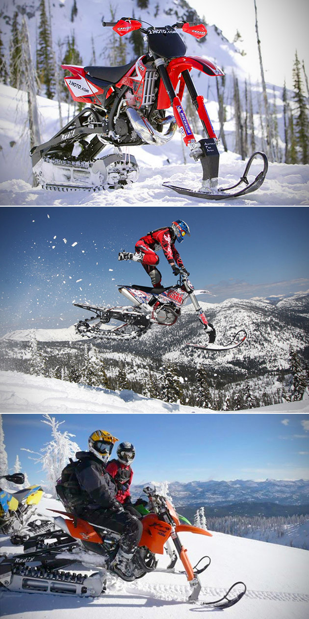 2Moto Snow Bike