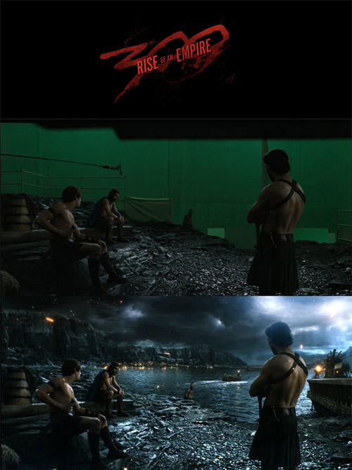300: Rise of an Empire VFX