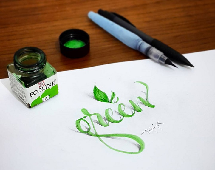 3D Calligraphy