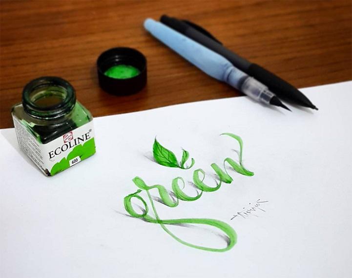 3D Calligraphy