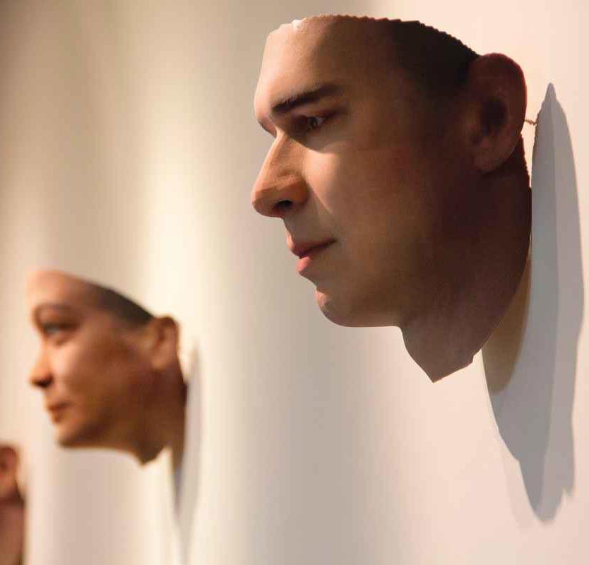 3D Face Portraits Gum DNA
