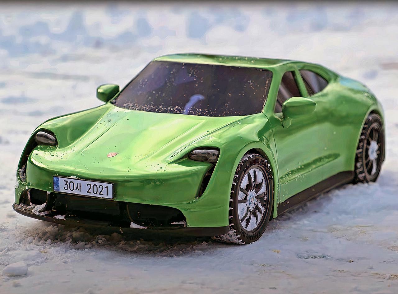 3D Pen Porsche Taycan