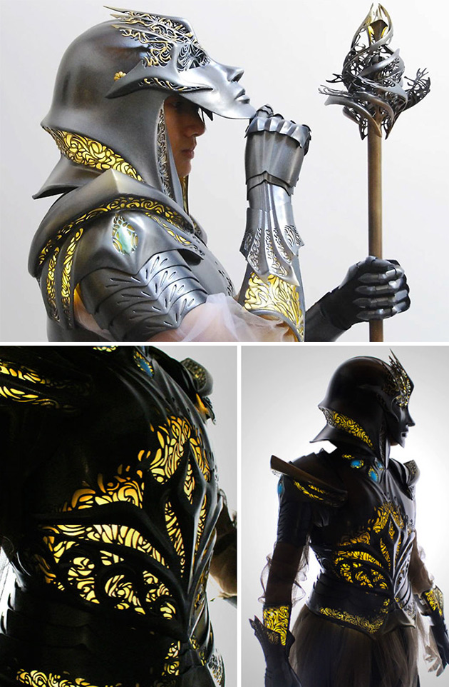 3D-Printed Armor