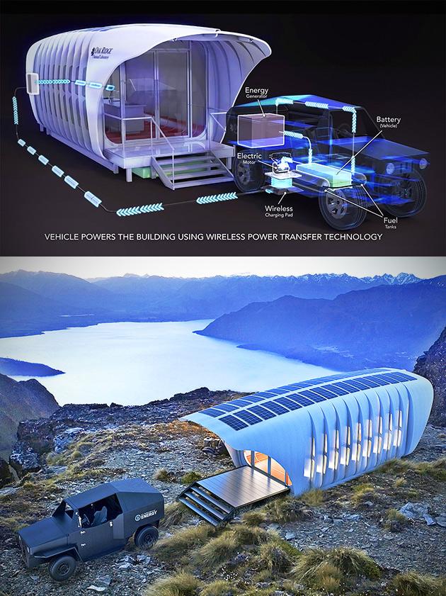 3D-Printed Building